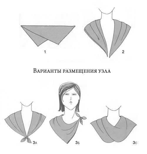 узлы для шарфов и платков скачать